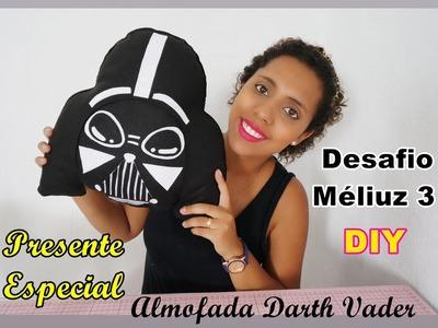 Desafio 3 DIY Almofada Darth Vader