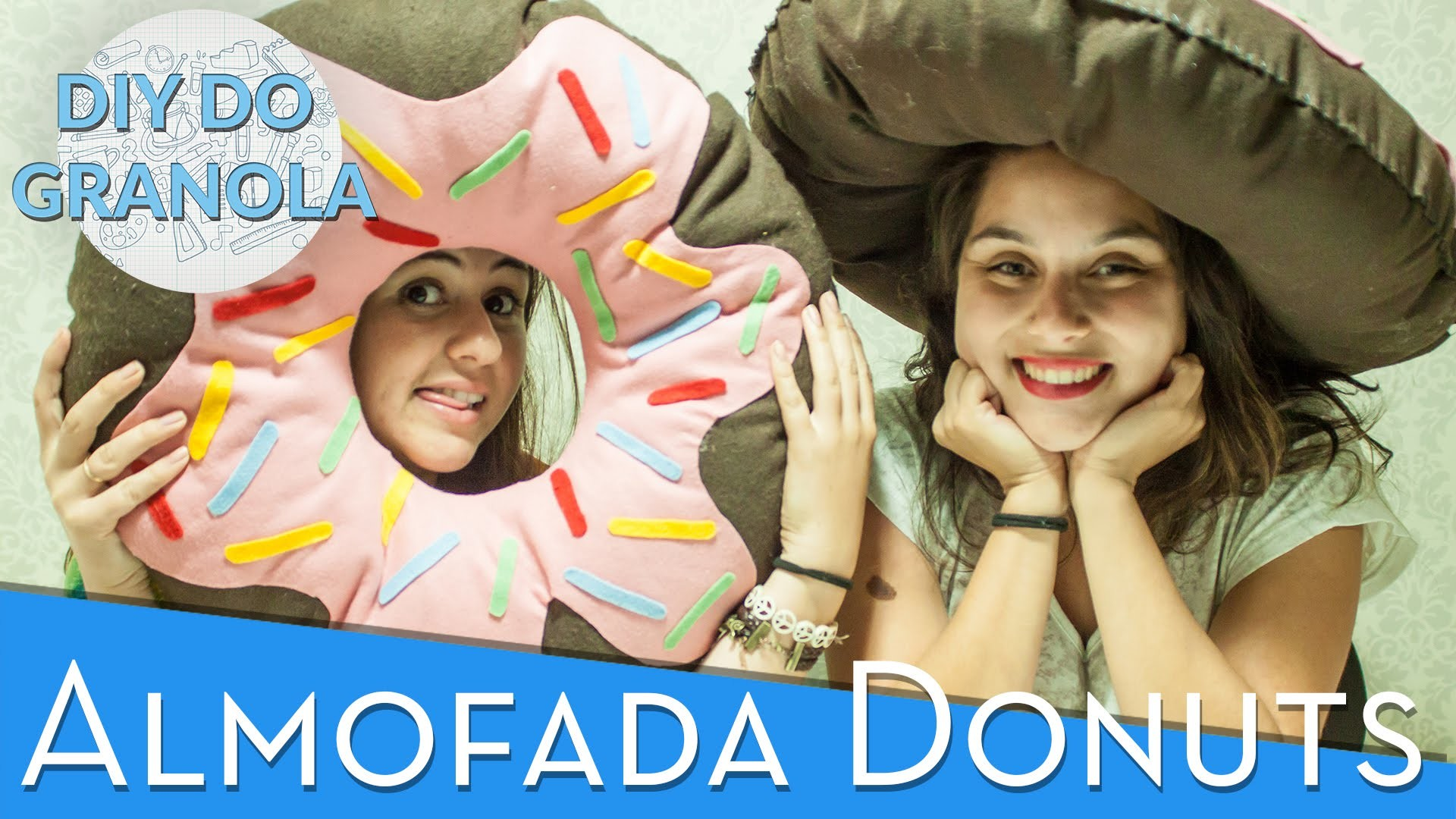 DIY do Granola: Almofada de Donuts