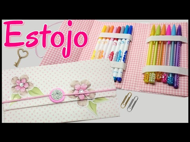 DIY -  Estojo com Caixa de Leite. Back to School
