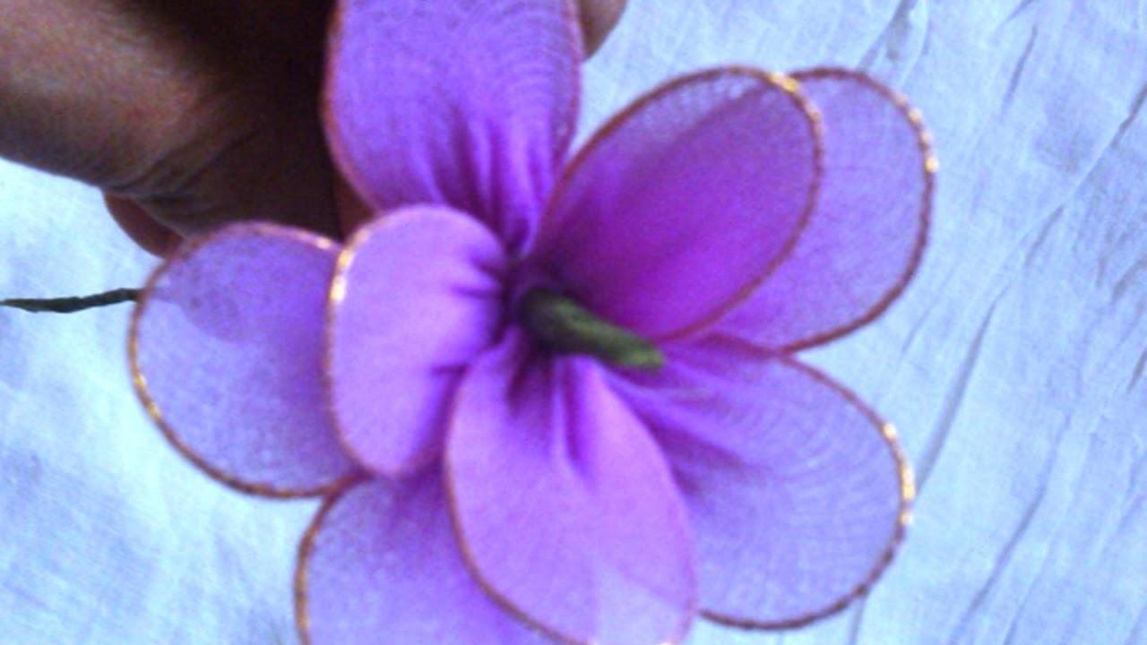 Use Meia Calça Velha Para Fazer Lindas Flores - Faça Você Mesmo Artesanato - Guidecentral