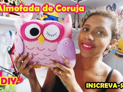 Almofada de Coruja DIY - Artesanato