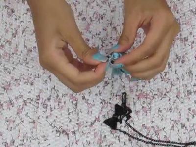 DIY: Colar com lacinho