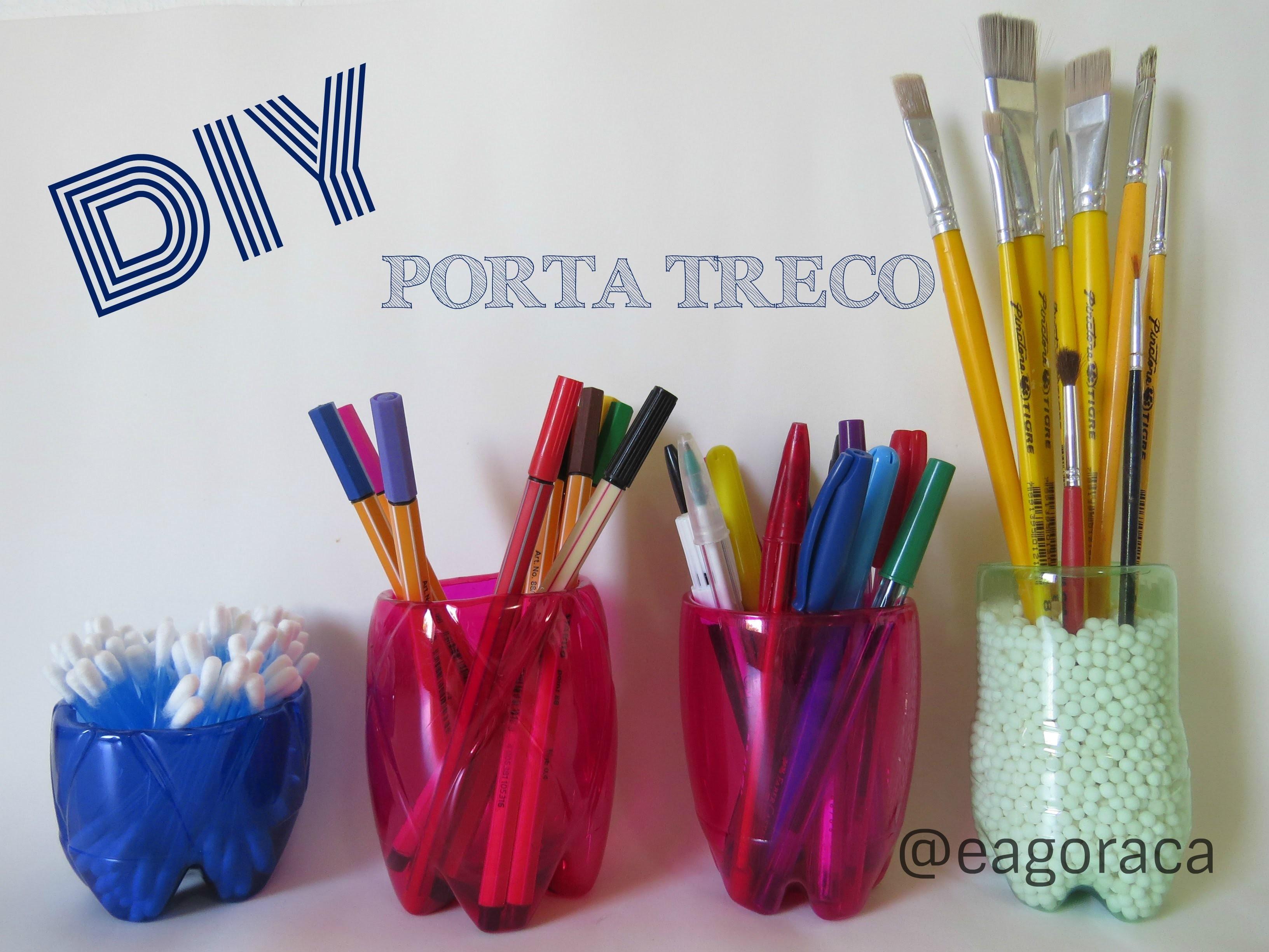 DIY - Porta Treco com Garrafa Pet
