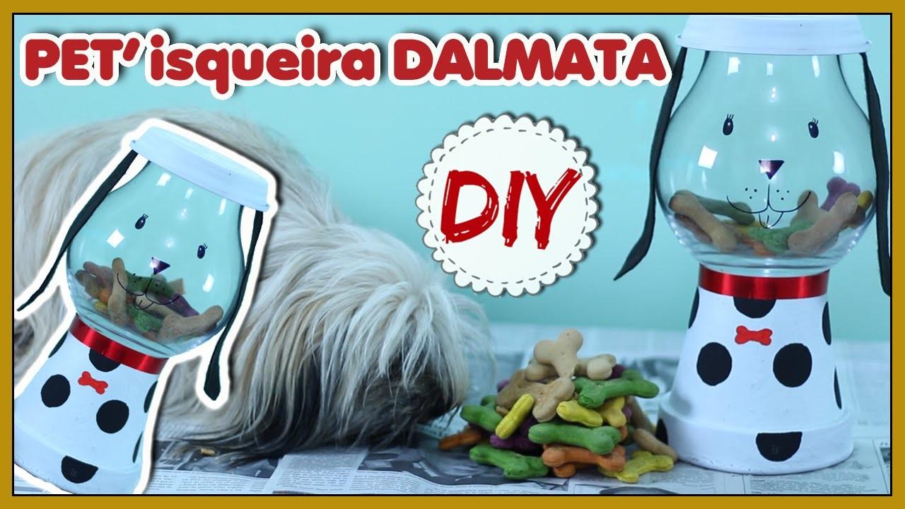DIY: Pote de Ração.Petisco em formato de Cachorro - Especial PET #2