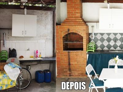 DIY: REDECORANDO A CHURRASQUEIRA (Desafio Méliuz)