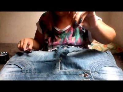 DIY: Transformando short em saia