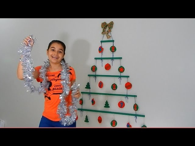 Diy   Como fazer arvore de Natal moderna - MilkShakeTube