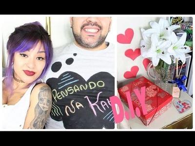 Diy: Dia dos Namorados - Camiseta Lousa, Aromatizador e Cartão