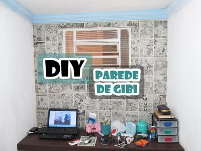Parede de Gibi (Quadrinhos) - DIY.Faça você mesmo