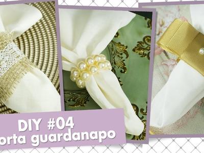 Como fazer porta guardanapos - DIY #04 | Casando com Amor