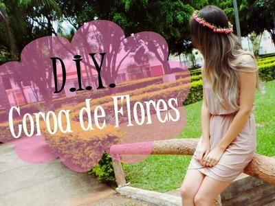 D.I.Y. Cora de Flores para o Cabelo