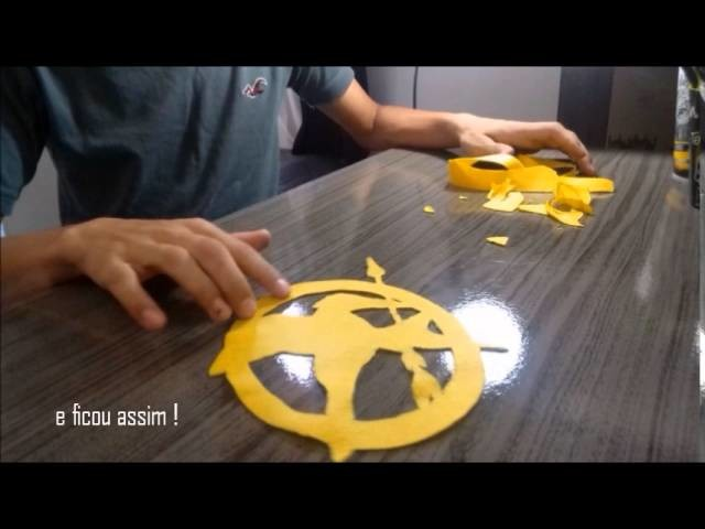 DIY: almofada - Jogos Vorazes