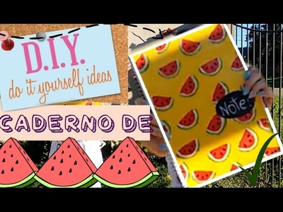DIY | BACK TO SCHOOL | Capa De Caderno De Melancias