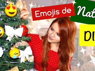 DIY: Emojis para Árvore de Natal | Vânia Maciel