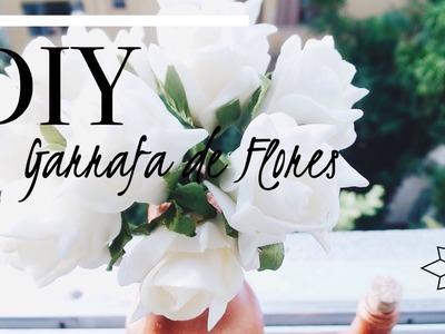 DIY: Garrafa de Flores | Mou
