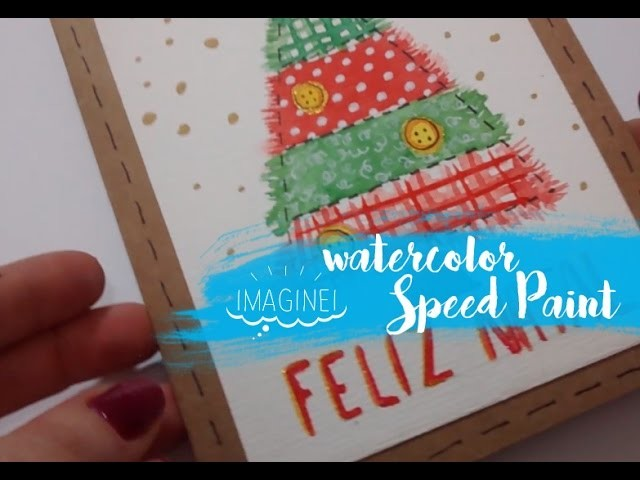 Speed paint - Christmas Card - IMAGINEI