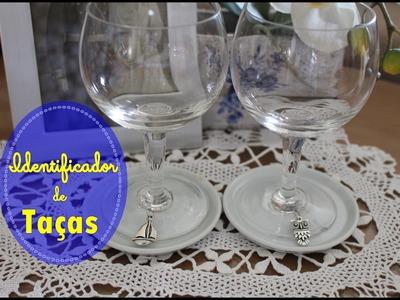 DIY - Identificador de taças - Quase sessenta - Didi Tristão
