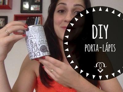 DIY: Porta trecos - Lata de leite condensado