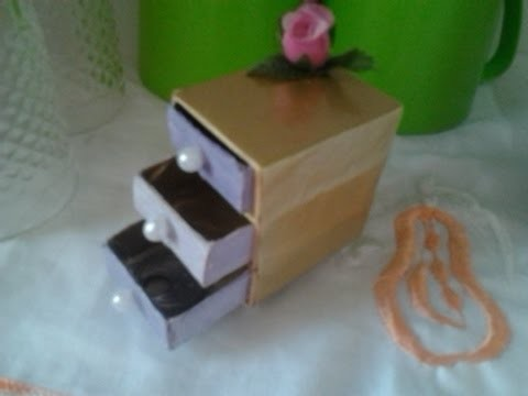 Caixa de fosforo artesanato