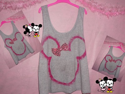 Diy: Blusa da Minnie ou do Mickey