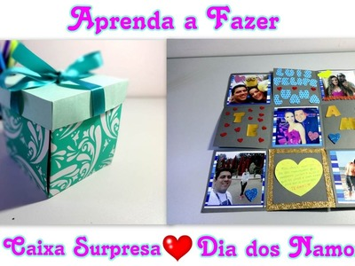 DIY| Caixa Surpresa - Dia dos Namorados