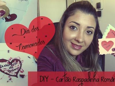DIY Cartão para o Dia dos Namorados | Raspadinha Romântica