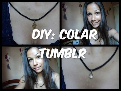 DIY: colar tumblr