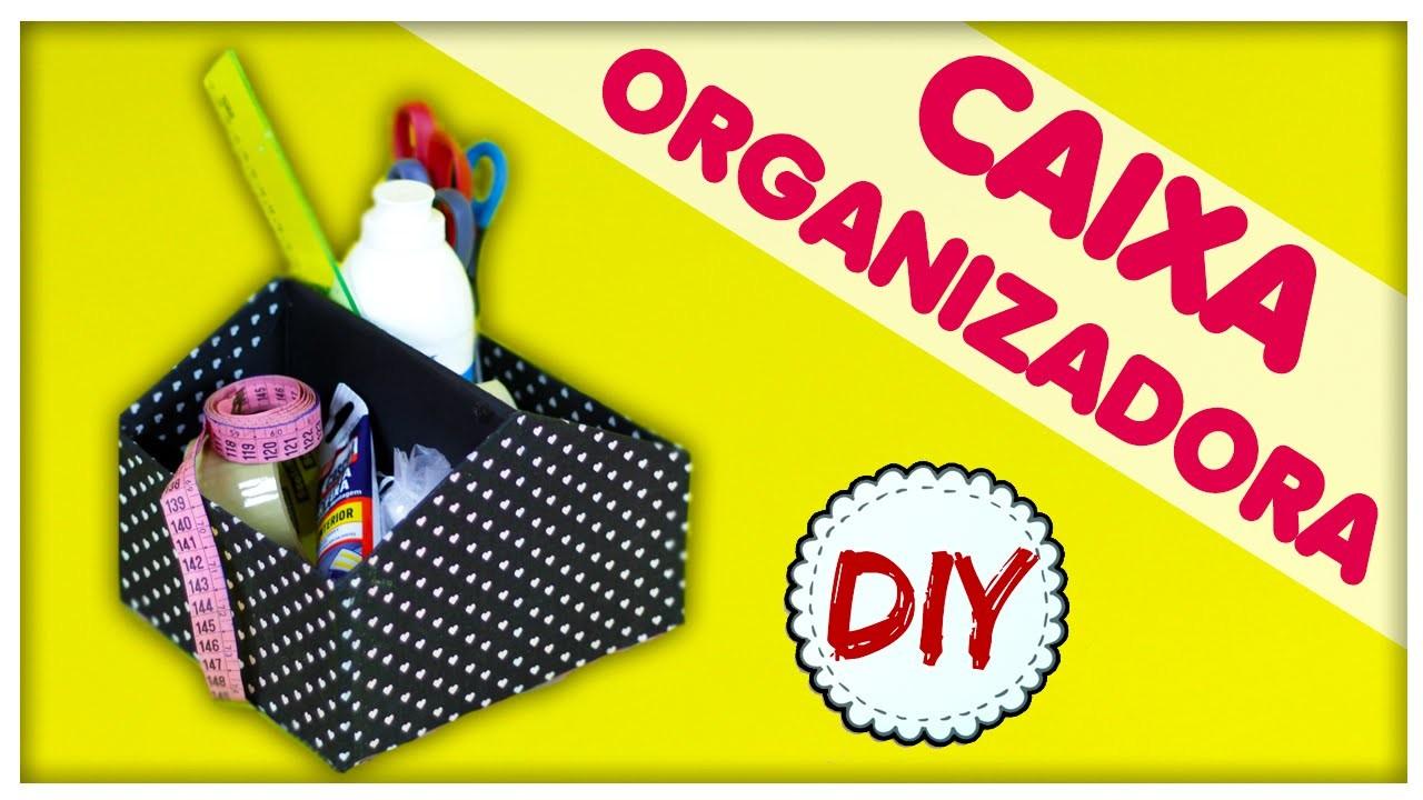 DIY: Como usar Caixa de Sapato na Decoração