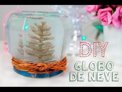 DIY de Natal - Globo de neve (Snow Globe)