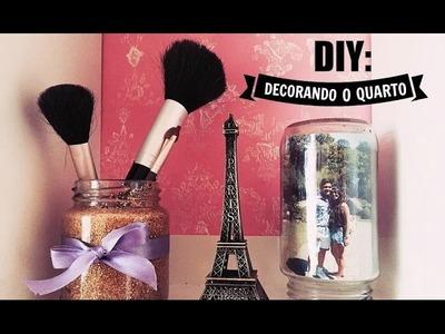 DIY : Decoração com potes de vidro