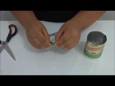 DIY | Faça voce mesmo: Como fazer cortadores de latinha