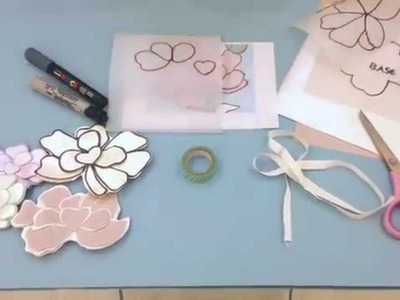 DIY flores de papel da Green por Bárbara Chiré