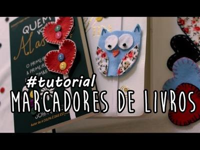 #DIY: Marcadores de Livros (Corações e Corujinha)