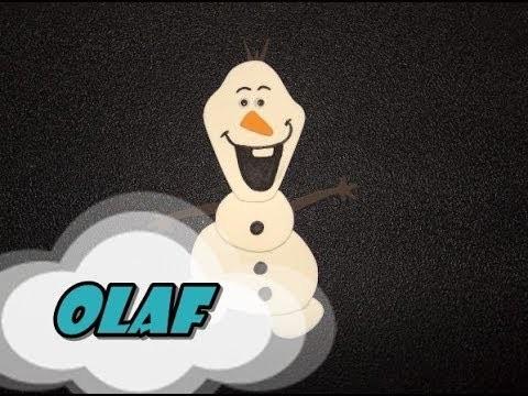 DIY.: Olaf Frozen - E.V.A Art