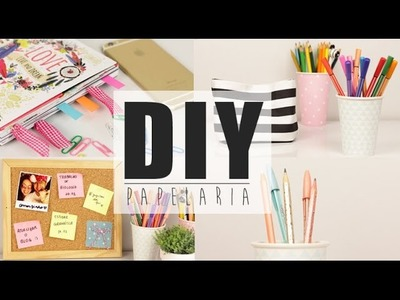 DIY Papelaria - Desafio ALUB - School Supplies