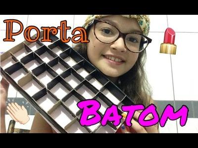 DIY - Porta Batom (esmalte) - (como fazer)