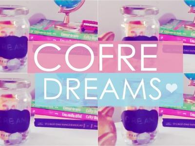 Diy Transformando pote de conserva em lindo cofre dreams ! Faça você mesmo :)
