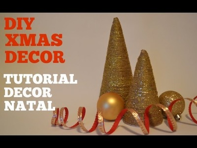 DIY XMAS TREE :: TUTORIAL ARVORE DE NATAL