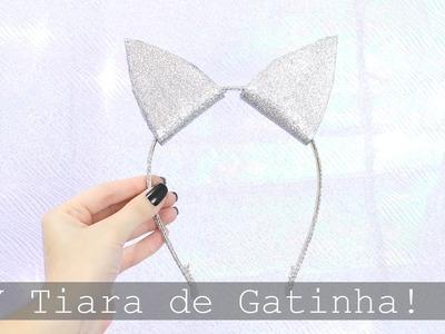 Especial de Carnaval: DIY Tiara de Gatinho