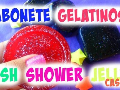 Faça Você Mesma:Sabonete Gelatinoso| DIY LUSH SHOWER JELLY (CASEIRO)