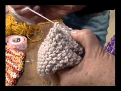 Mulher.com 31.05.2011 - Esponja de tricô para banho