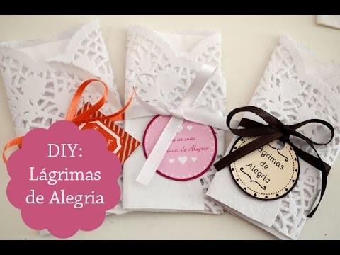 DIY: Lágrimas de Alegria