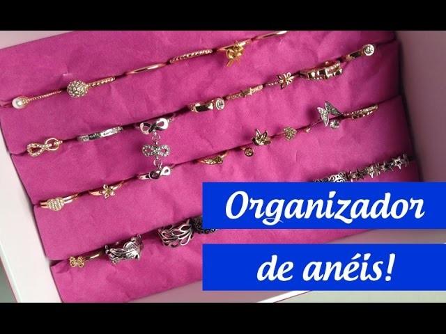 DIY - Organizador de Anéis