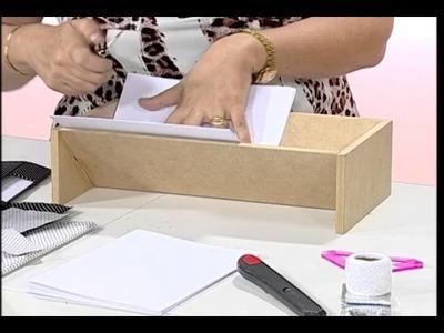 Artesanato - Aprenda a fazer encadernação