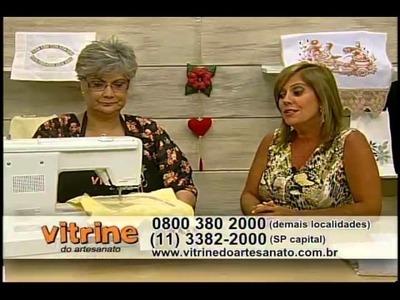 Bordado em toalha com Maria Angélica - Vitrine do Artesanato na TV