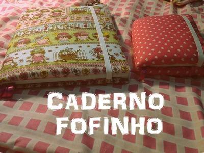 ✂ Caderno de Tecido Fofinho ❤︎ DIY #03