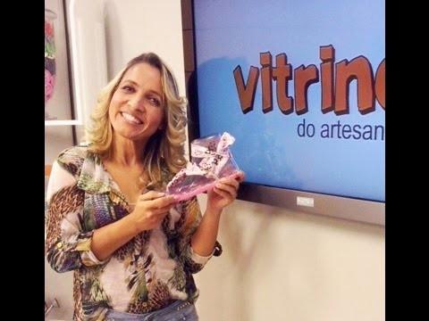 Chinelo de verão com Andreia Bassan | Vitrine do artesanato na TV