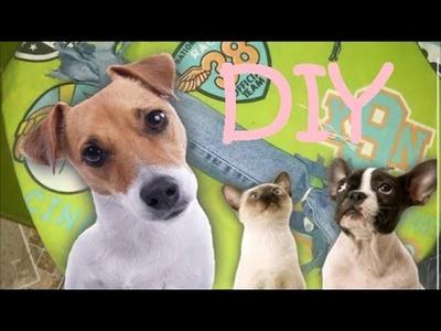 Como fazer brinquedo para cachorros - Fácil de fazer - Passo a Passo
