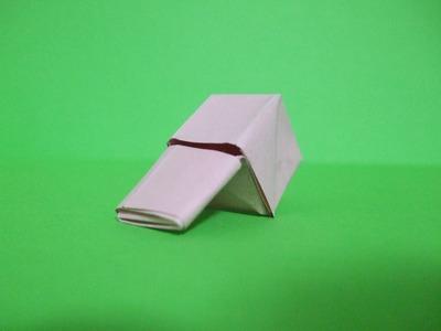 Como fazer um apito com papel (origami)