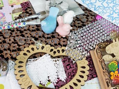 Comprinhas de Materiais de Artesanato e DIY Parte 2 - Novidades